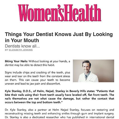 Peter Schwartz Stanley in Womens Health PDF