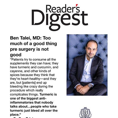 Talei in Readers Digest