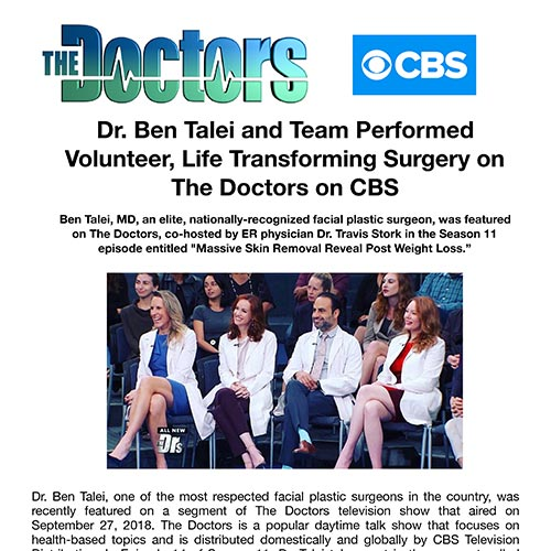 Talei on Ther Doctors