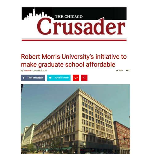 Robert Morris Universitys initiative to make graduate school affordable