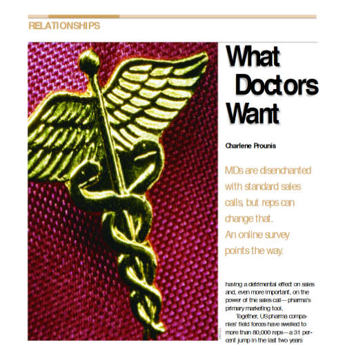 What Drs Want
