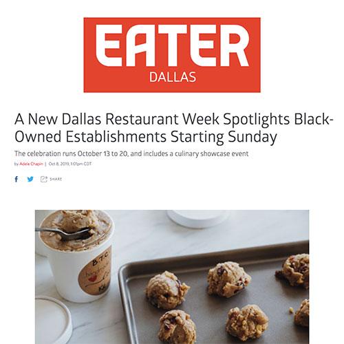 A New Dallas Restaurant Week Spotlights Black-Owned Establishments Starting Sunday