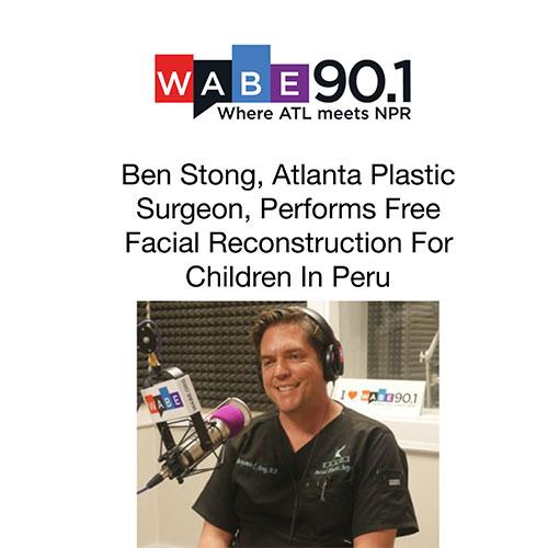 Ben Stong, Atlanta Plastic Surgeon, Performs Free Facial Reconstruction For Children In Peru