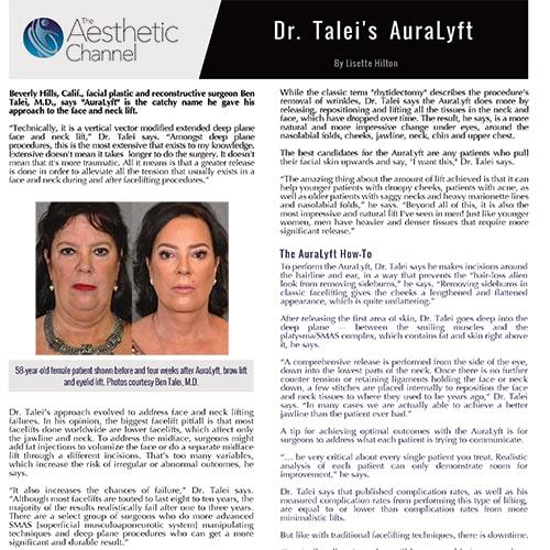 Dr. Talei's AuraLyft