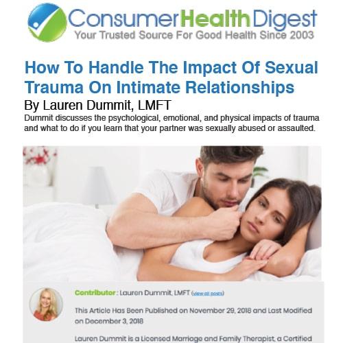 Trauma On Intimate Relationships