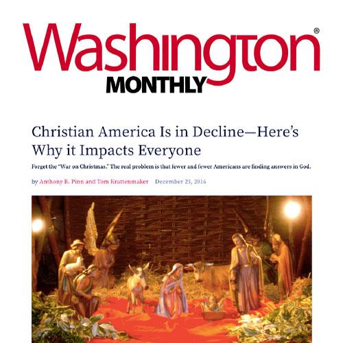 Screenshot of Washington Monthly