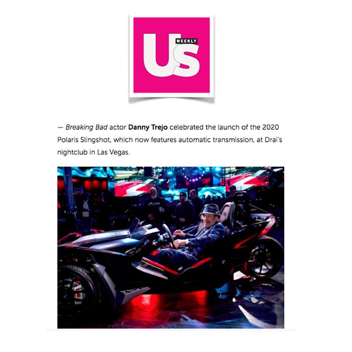 Polaris in Us Magazine