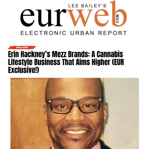 Screenshot of an article: Erin Hackney's Mezz Brands: A Cannabis Lifestyle Business That Aims Higher (EUR Exclusive!)